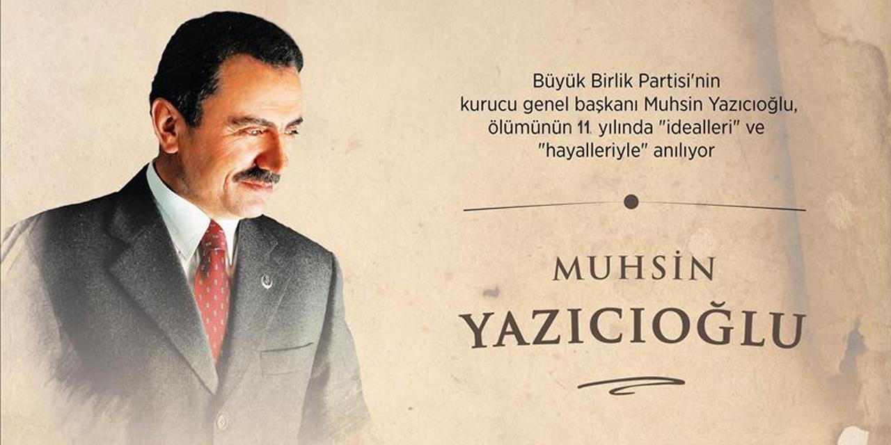 Muhsin Yazıcıoğlu'nun vefatının 11. yılı