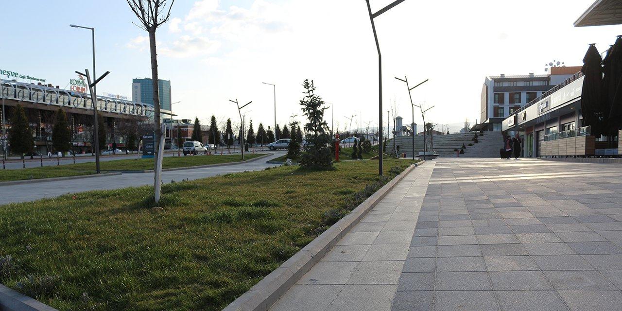 'Evde kal' çağrısı Konya'da karşılıksız kalmadı