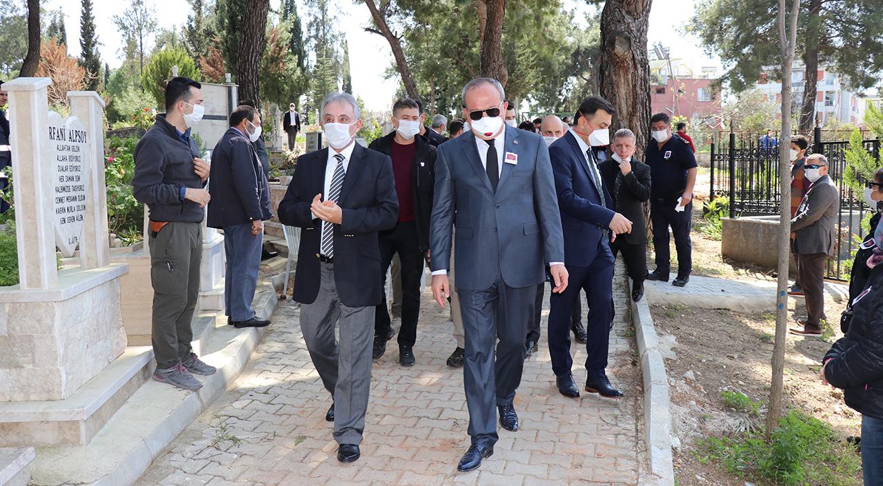 Konya Emniyet Müdürü Aydın'ın babası toprağa verildi