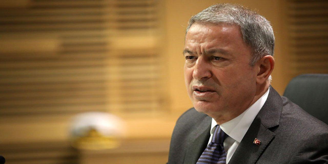 Milli Savunma Bakanı Akar, Haftanin'de şehit düşen  askerler için başsağlığı mesajı