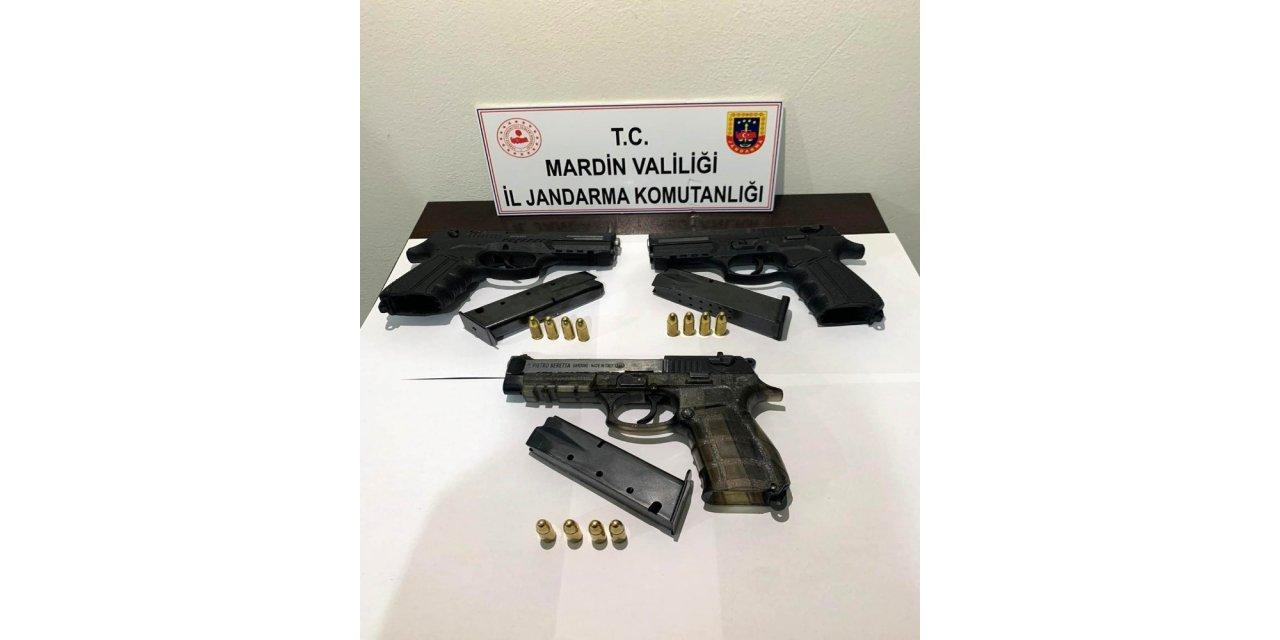 Jandarmadan silah kaçakçılarına darbe