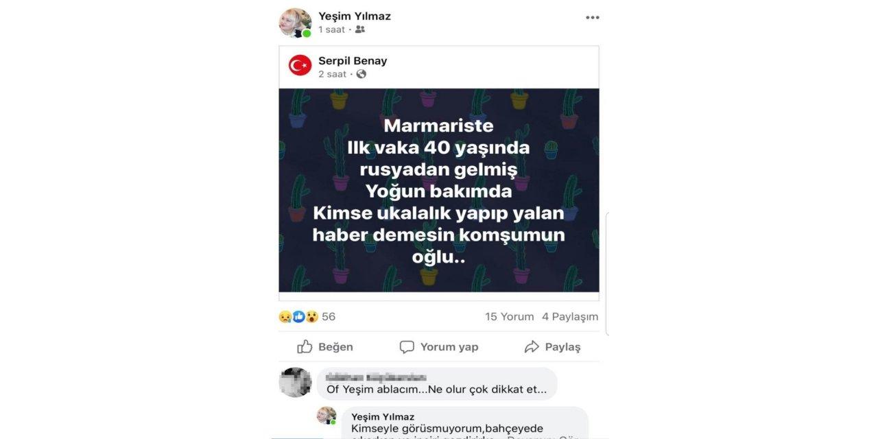 Marmaris'te asılsız paylaşım yapan 11 kişiye işlem yapıldı: Aralarında 2 şarkıcı da var