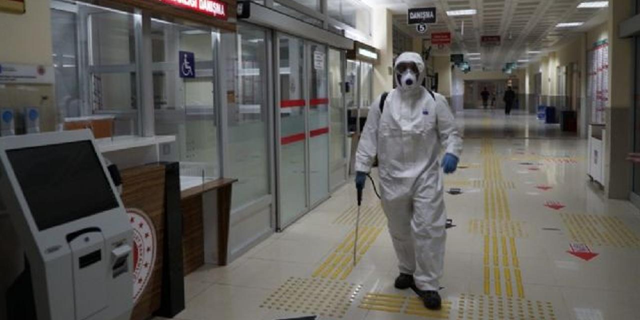 Karatay koronavirüsle mücadele ediyor