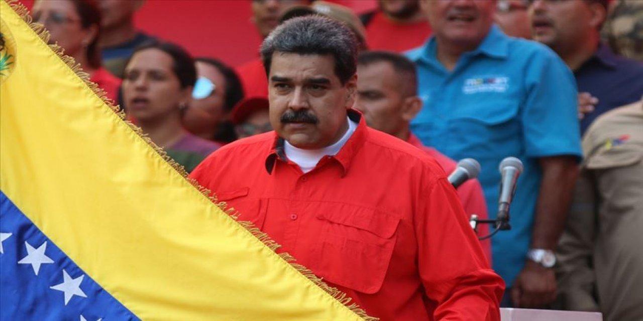 Maduro, ABD ve Kolombiya'yı 'ülkesine komplo kurmakla' suçladı