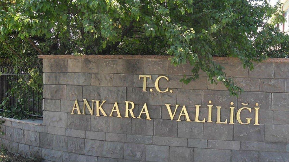 """Ankara Valiliği: """"Şehirler arası yolcu taşımacılığı yapılan otobüs seferleri 28.03.2020 saat 17.00'den itibaren ilimizde valiliğimizin izni ile yapılabilecektir."""""""