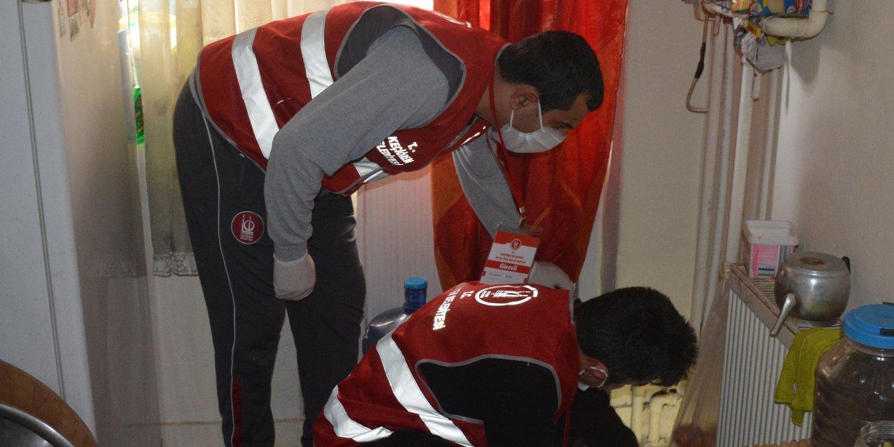 Keçiören'de Kovid-19 nedeniyle evlere teknik servis desteği