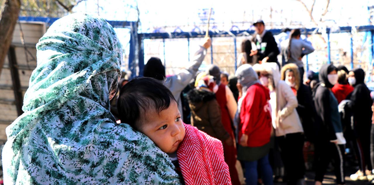 Doğum yapan sığınmacının testi pozitif çıktı