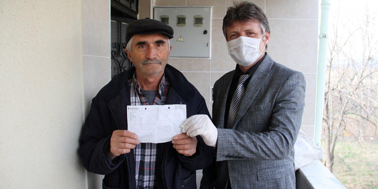 68 yaşındaki Sivaslıdan duygulandıran bağış