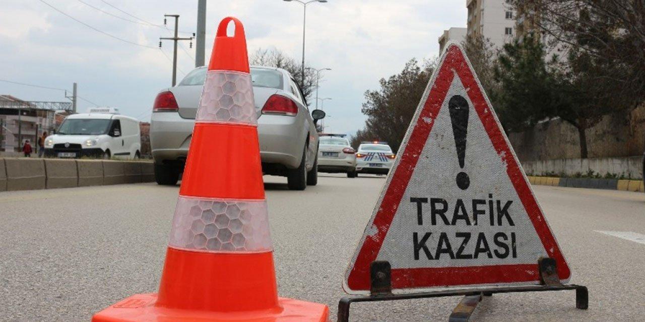 Konya Kulu Makasında kaza! 2kişi yaralandı