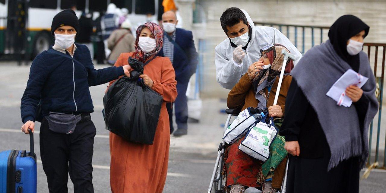 Konya'daki umrecilerin tahliyesi sürüyor
