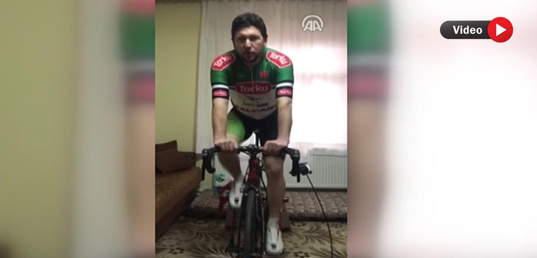 Torkulu bisikletçilerden 'Evde kal' çağrısı