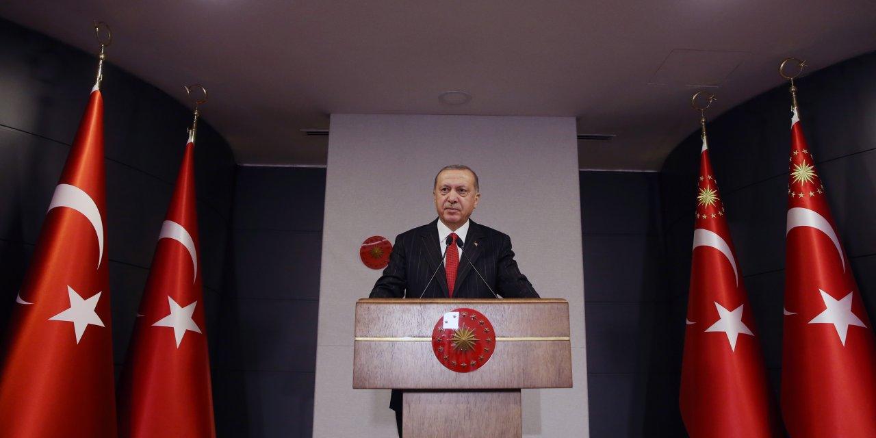 Erdoğan: Maske satışı yasaktır! Herkese yetecek maskemiz var