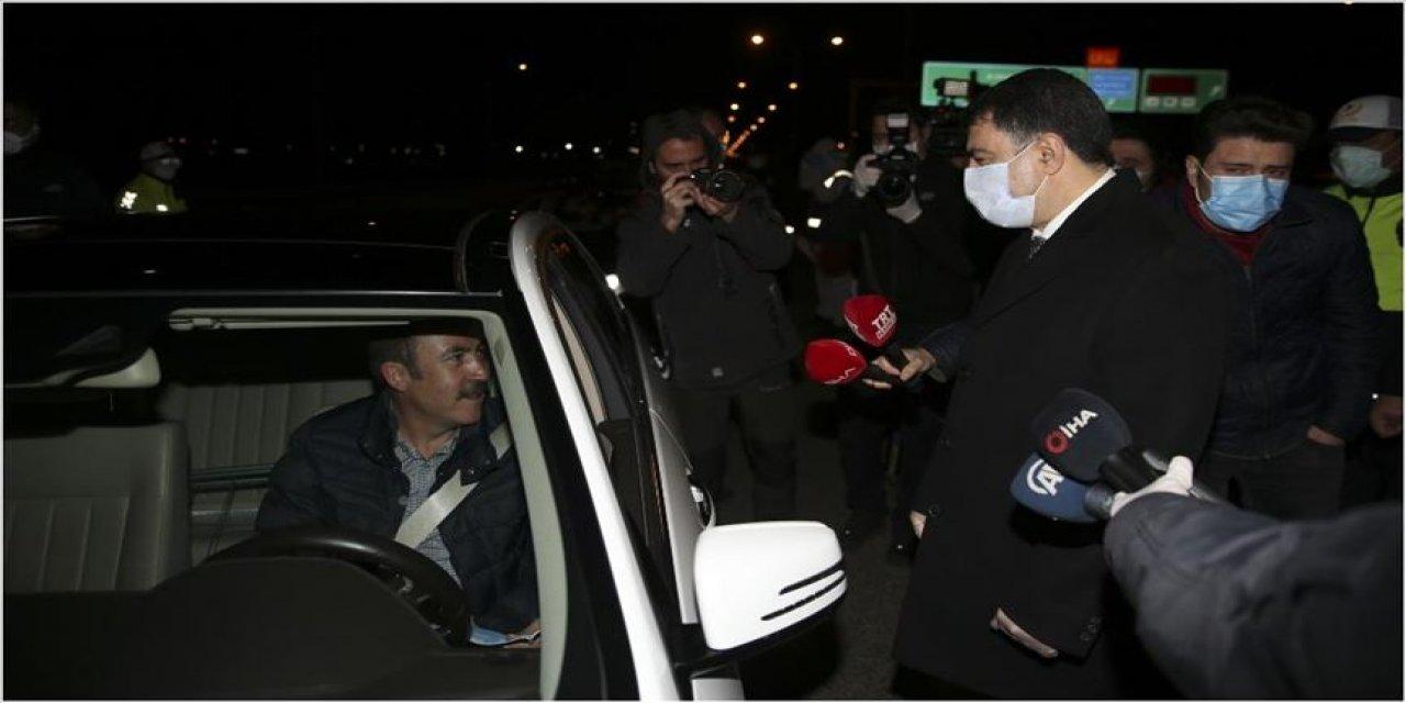 Ankara Valisi Şahin, tedbirleri yerinde inceledi: