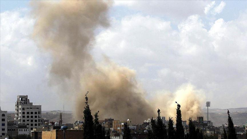 Suud öncülüğündeki koalisyondan Yemen'e 50 hava saldırısı