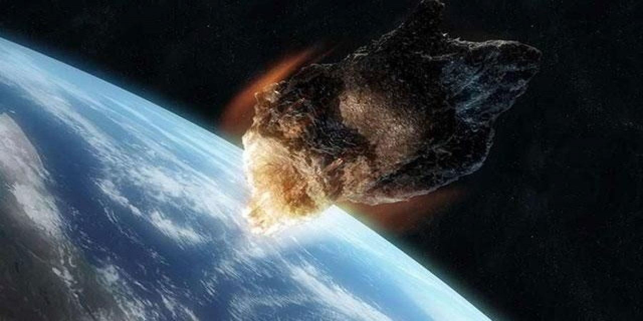 NASA'DAN DÜNYAYA ÇARPMASI BEKLENEN GÖKTAŞI İLE AÇIKLAMA