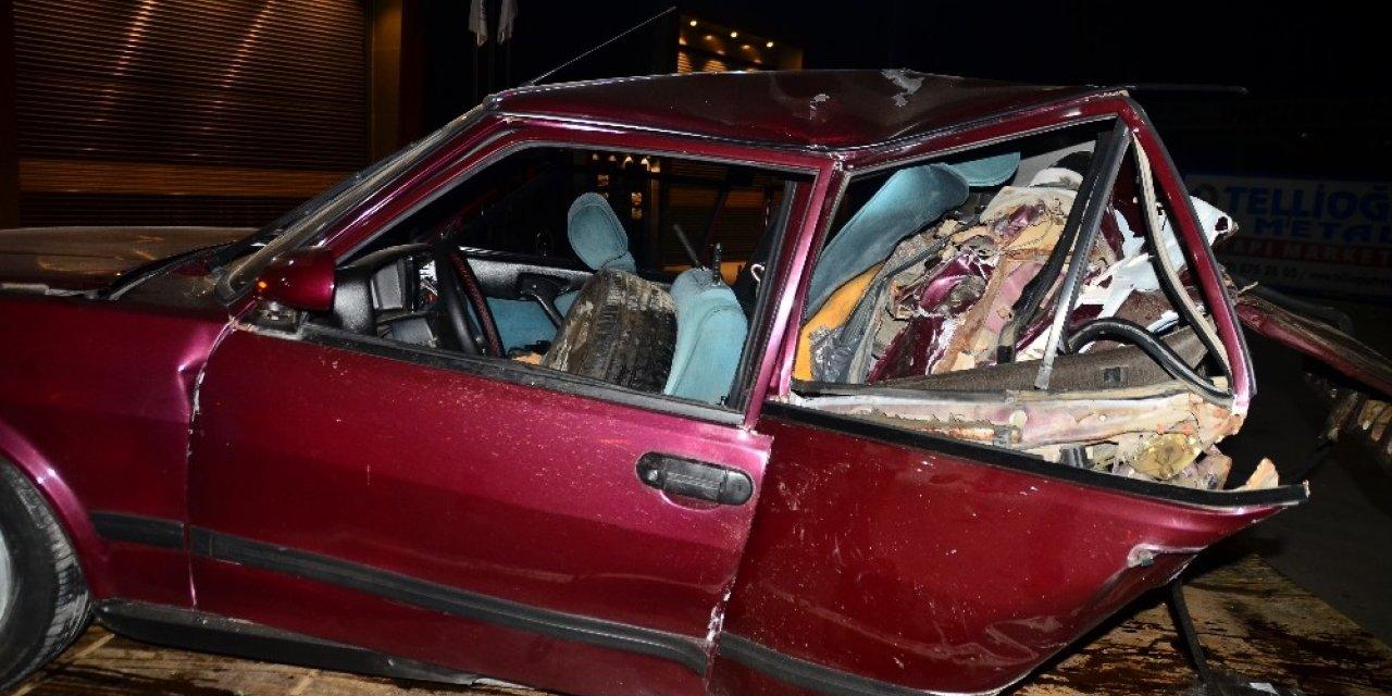 Samsun'da feci kaza! 3 kişi yaralandı
