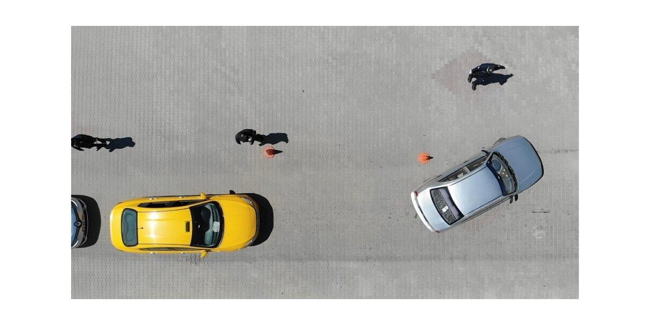 Çankırı'ya gelen her araç tek tek durduruluyor