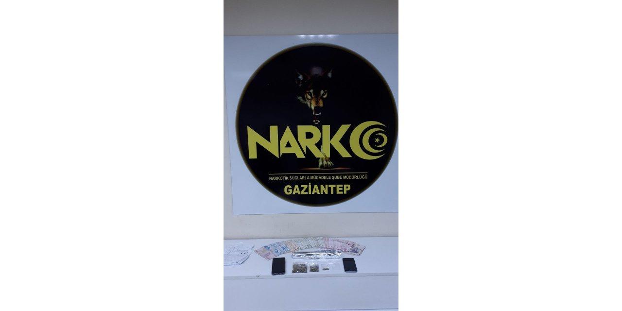 Gaziantep'te uyuşturucu operasyonunda 6 şüpheli gözaltına alındı