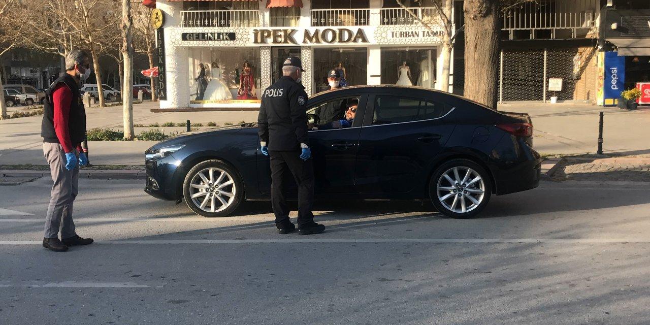 Konya polisinden sokaklarda sıkı denetim!