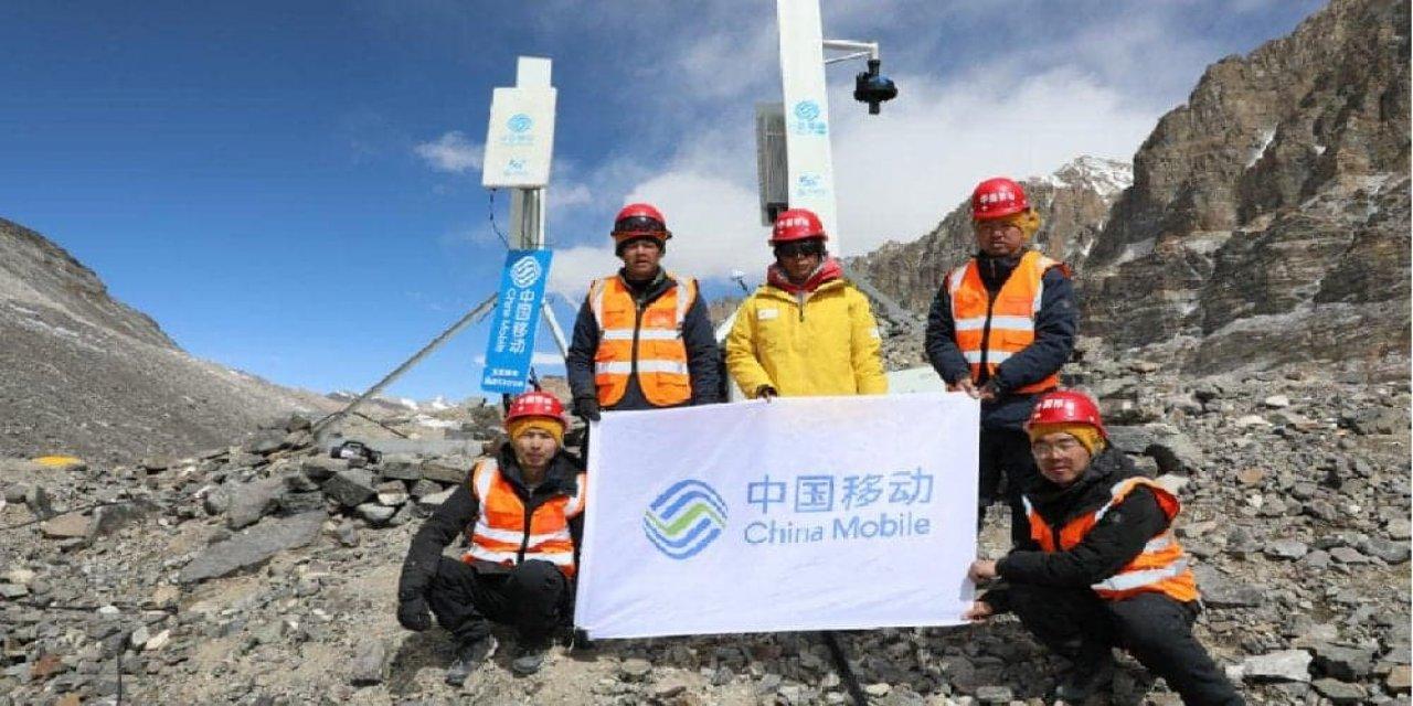 Huawei'den Everest dağına 5G anteni