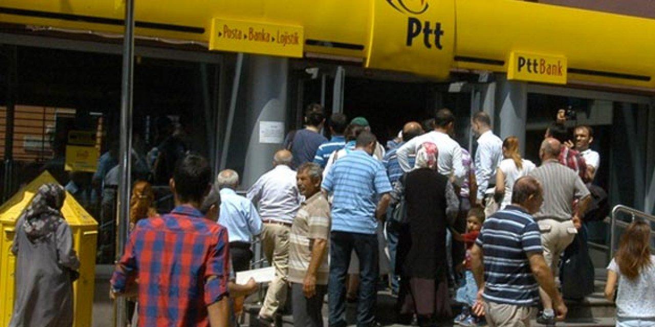 PTT'den para limiti açıklaması