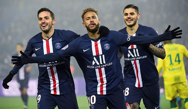 Fransa'da LFP Futbol Ligi bitirildi PSG şampiyon oldu