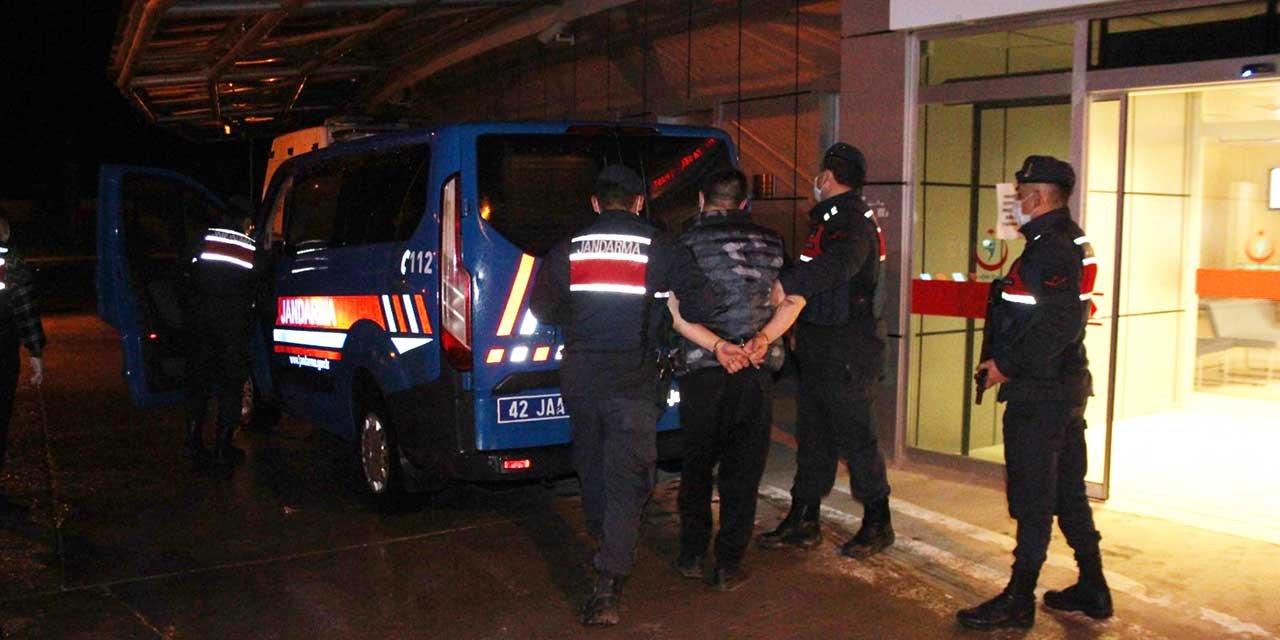 Beyşehir'de iki şüpheli aynı evde yakalandı