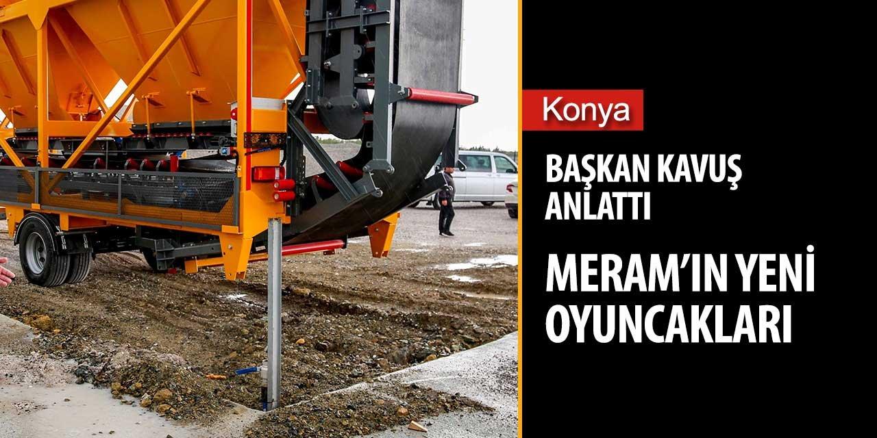 Başkan Mustafa Kavuş kendi kendine yeten bir belediye hedefliyor