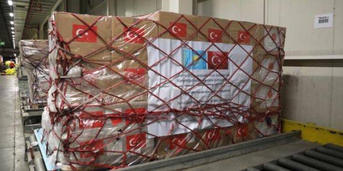 Kazakistan'a da yardım eli uzattık