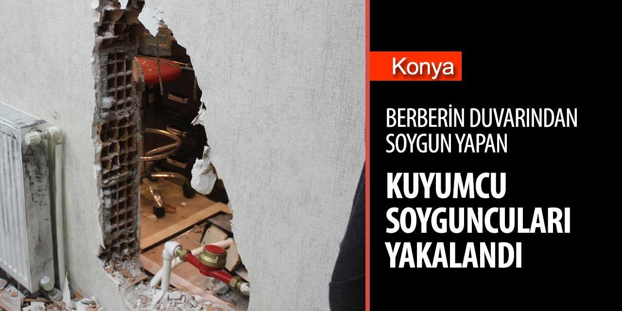 Konya'daki kuyumcu soygununda flaş gelişme!