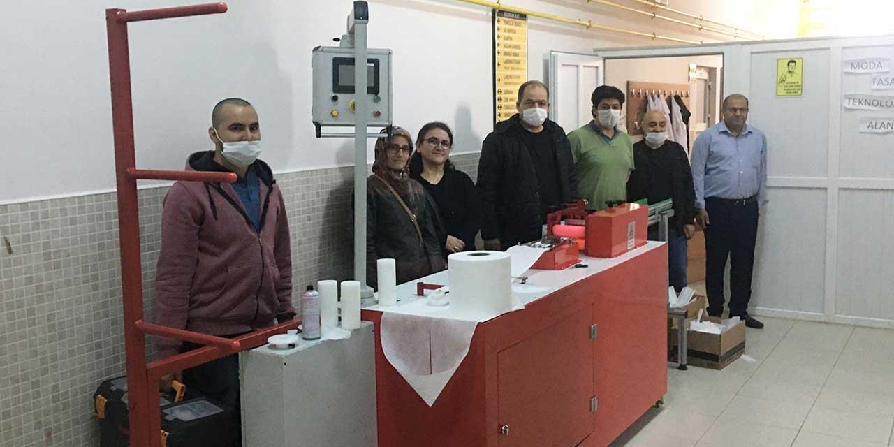 Seydişehir günde 20 bin maske üretmeye hazırlanıyor