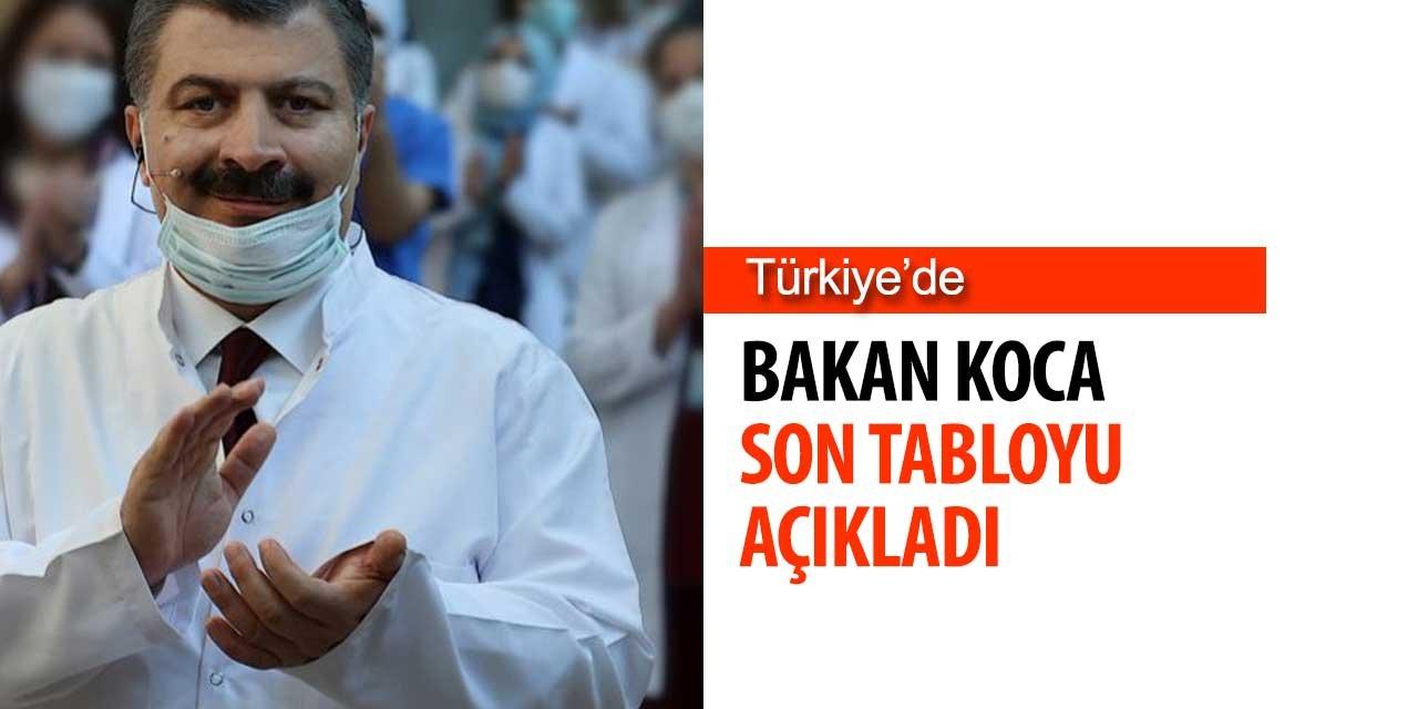 Sağlık Bakanı Türkiye'deki Son Tabloyu Açıkladı