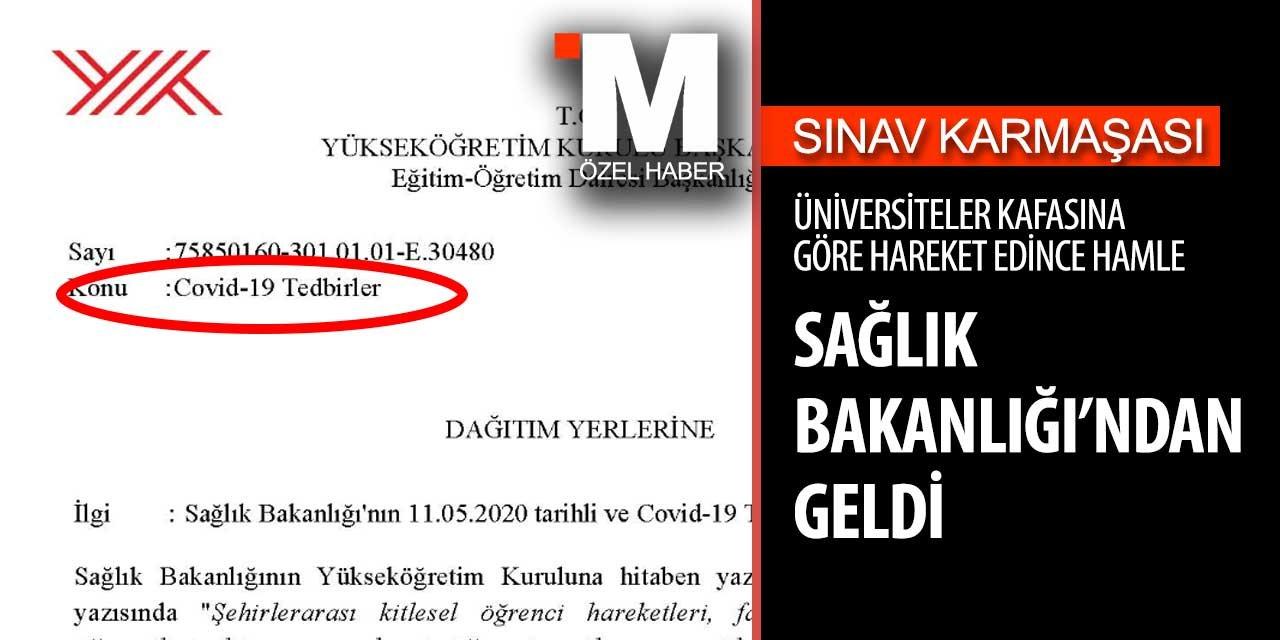 Türkiye'de tüm üniversitelere karar gönderildi! Üniversite final sınavları iptal!