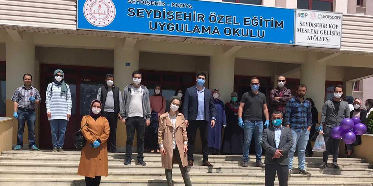 Seydişehir Özel Eğitim Uygulama Okulu özel öğrencileri unutmadı