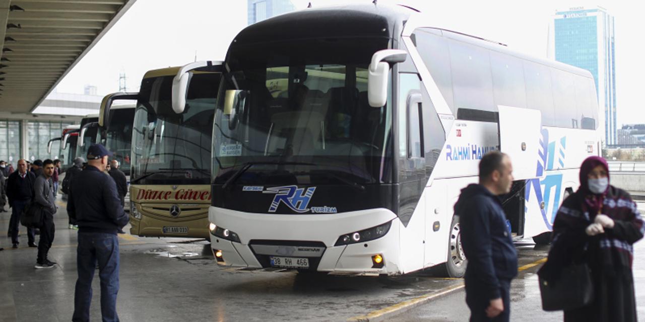 Otobüs biletlerinde tavan fiyat belli oldu