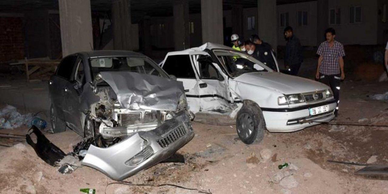 Aksaray'da bir şahıs dur ihtarına uymadı 3 polis yaralandı