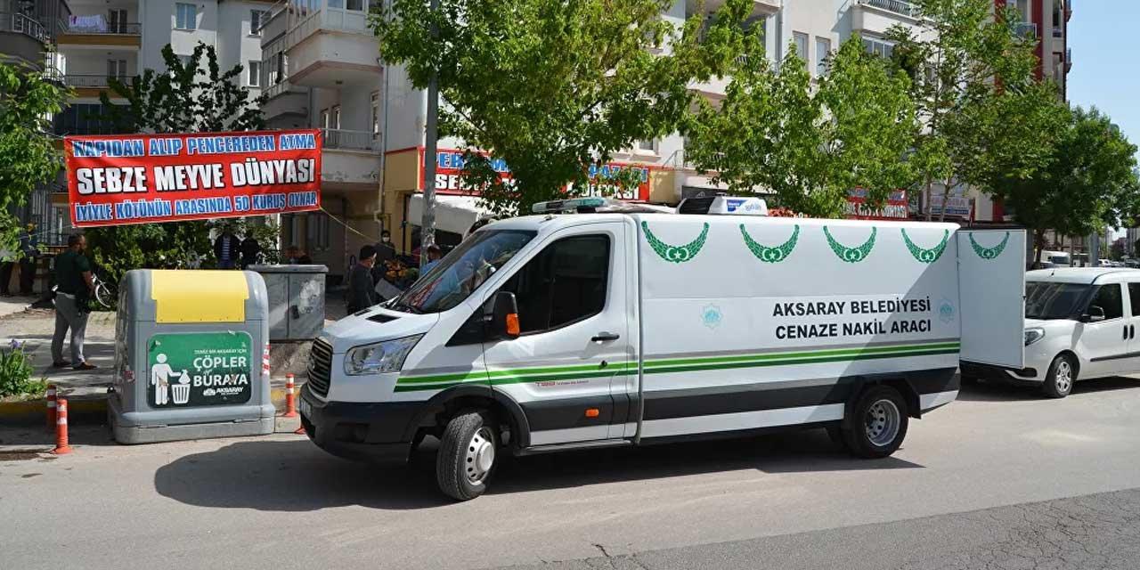 Aksaray'da Bir Kadın Cinayeti Daha Yaşandı