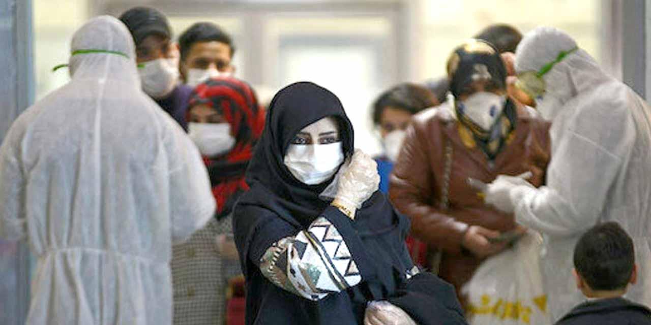 Irak'ta maske ve eldivensiz seyahatin cezası 42 dolar