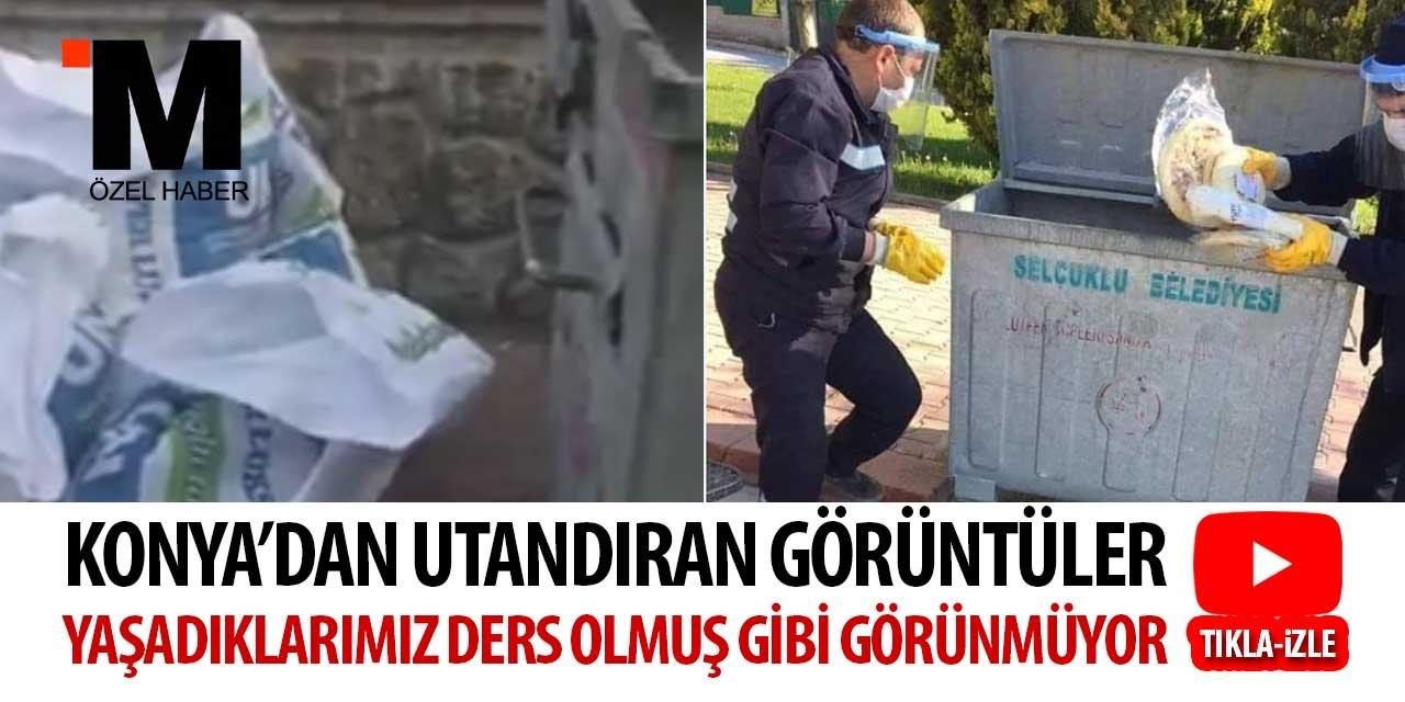 Konya'dan utandıran görüntüler