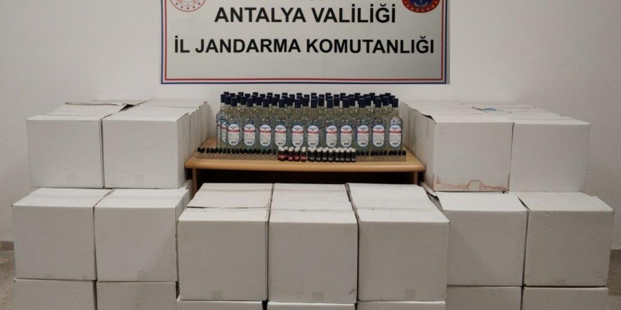Antalya'yı zehirleyeceklerdi jandarmaya yakalandılar