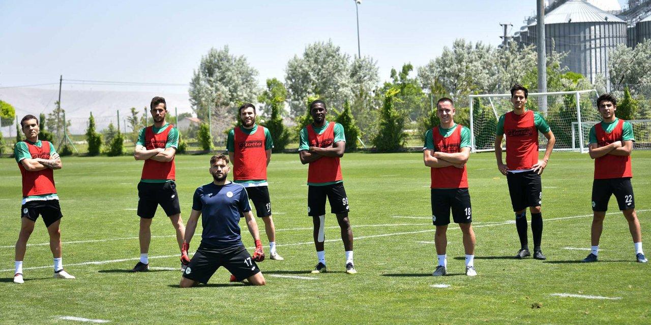Konyaspor Hazırlıklara Devam Ediyor
