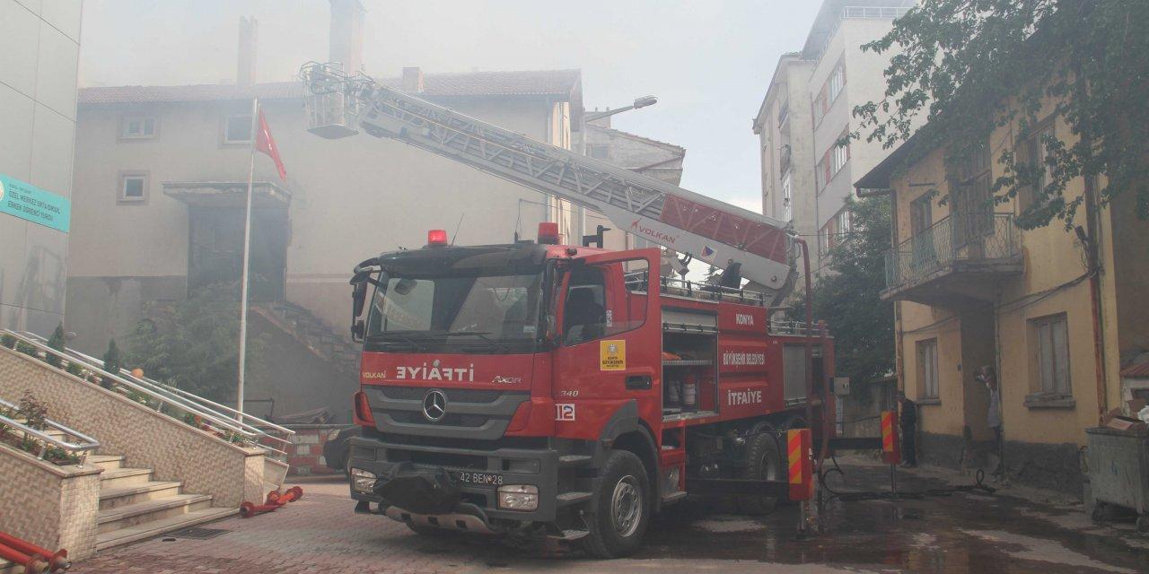 Beyşehir'de Çıkan Yangın Korkulu Anlat Yaşattı