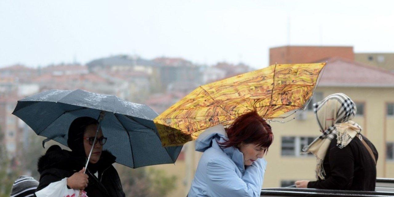 Konya ve 3 İlde Fırtına Uyarısı Yapıldı