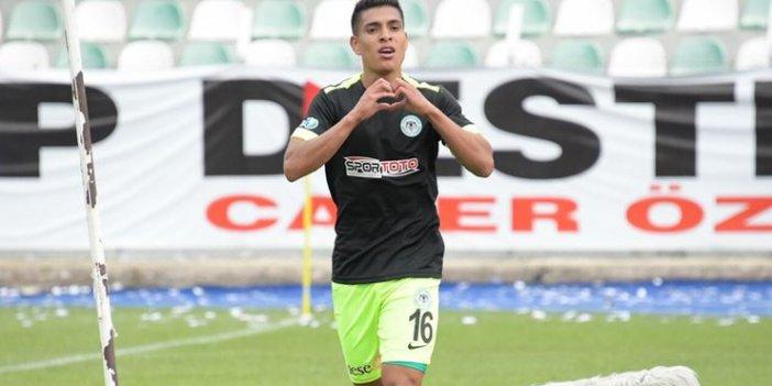 Konyaspor'da Gençlerbirliği maçında sakatlanan Paolo Hurtado sezonu kapattı gibi