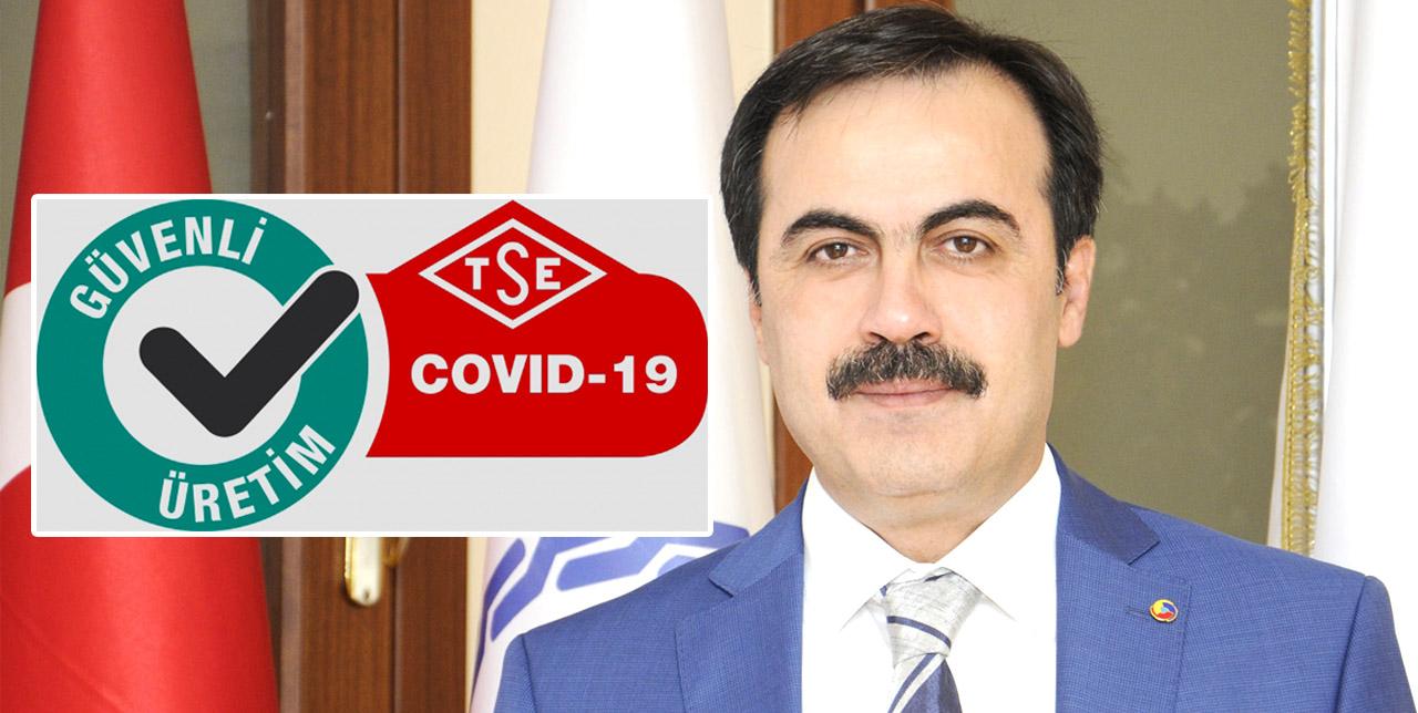 KTO Türkiye'de Kovid-19 belgesi alan ilk oda oldu