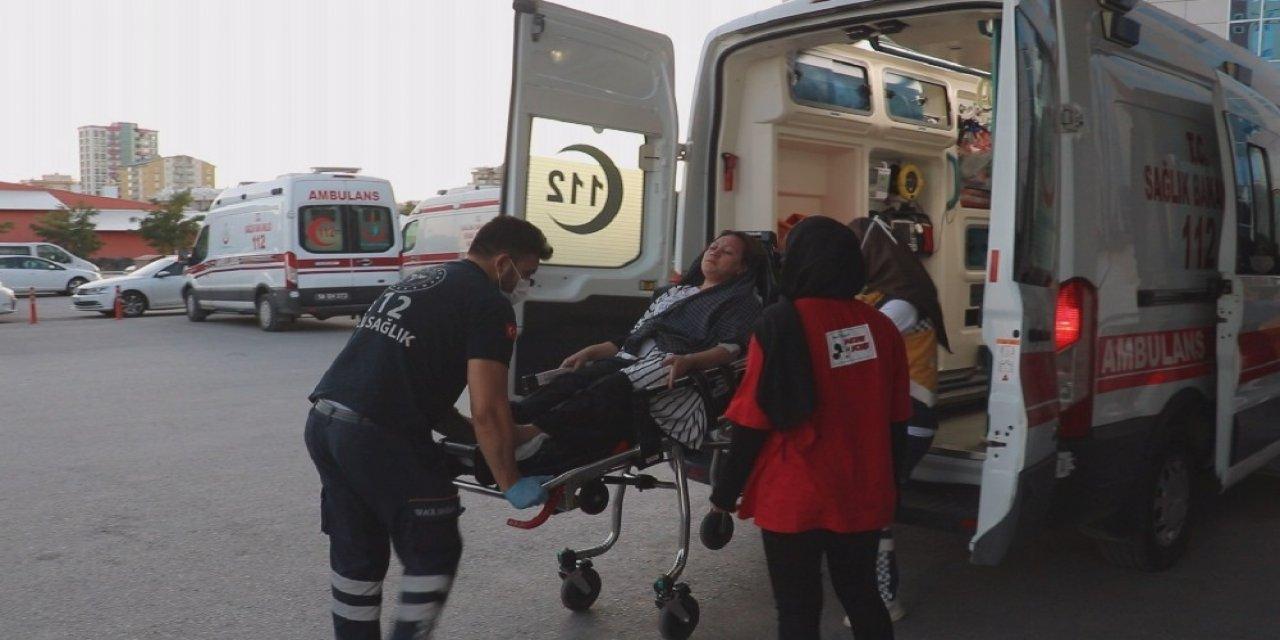 Patlayan düdüklü tencere 1 kişiyi yaraladı
