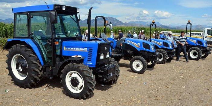 Karaman'da satılan traktör sayısı otomobil sayısına yetişti
