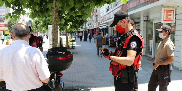 Maske takmanın zorunlu olduğu Bolu'da takmayanların canı fena yandı