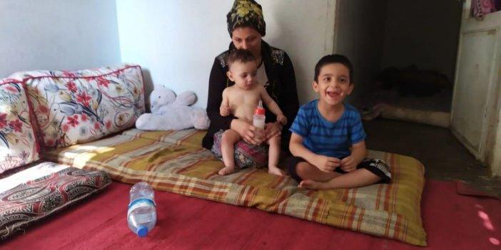 Bu acı tablo Türkiye'den! Çocuklarına süt alamayınca bakın ne içirdi