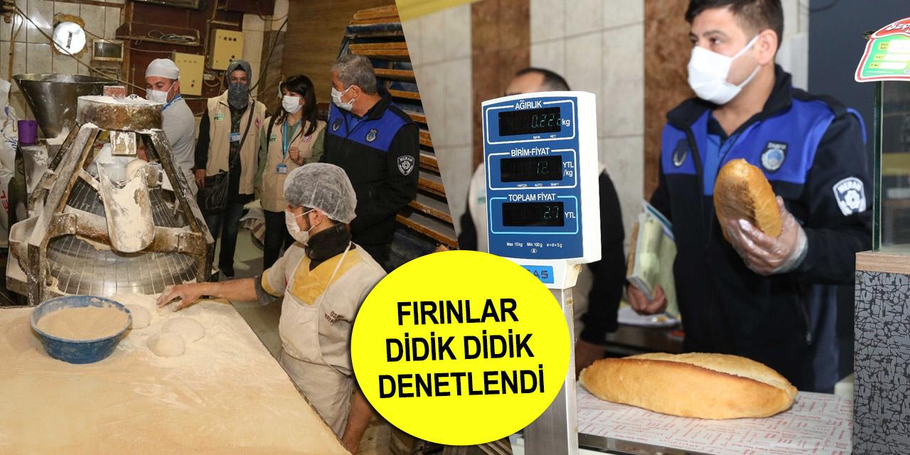 Konya'da ekmek ve Ramazan pidesinde gramaj kontrolü!
